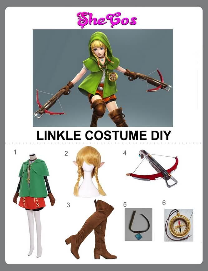 linkle cosplay diy