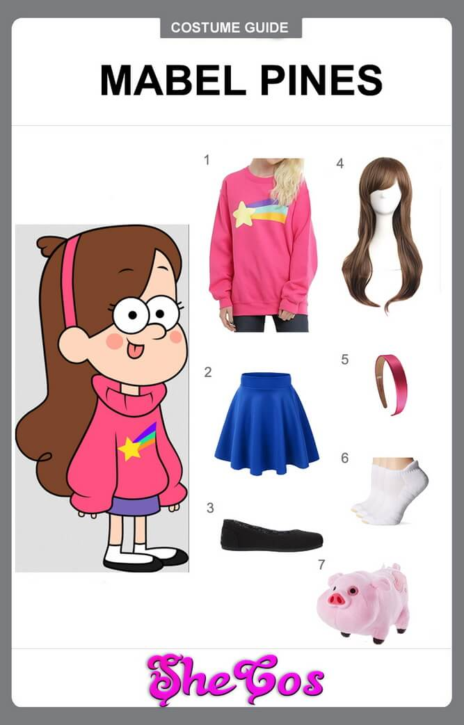 mabel pines cosplay diy