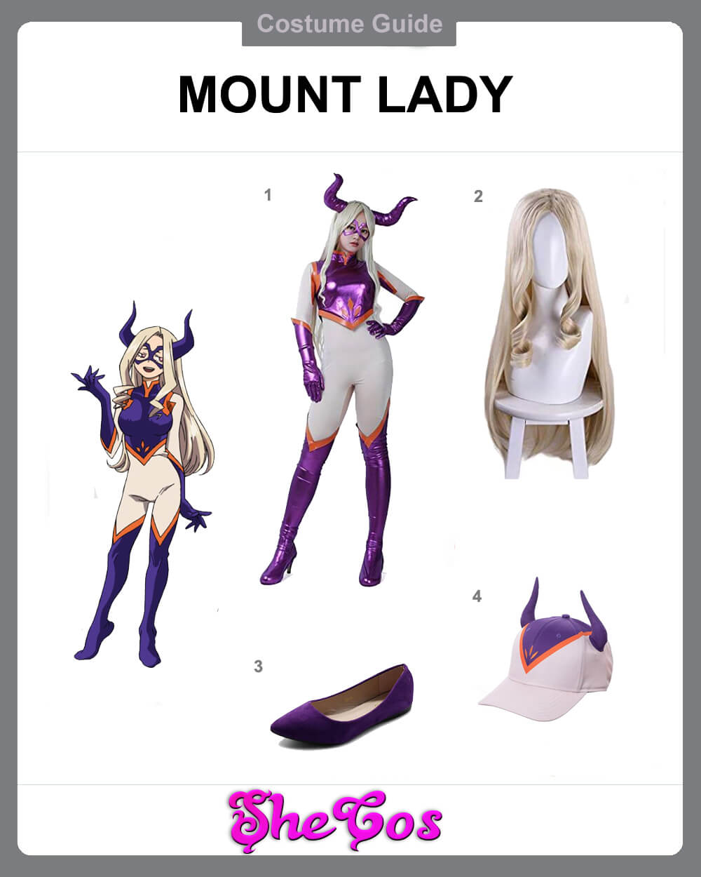 mount lady cosplay diy