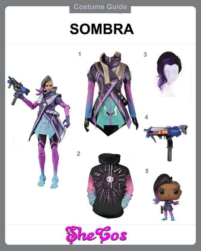 overwatch sombra cosplay diy