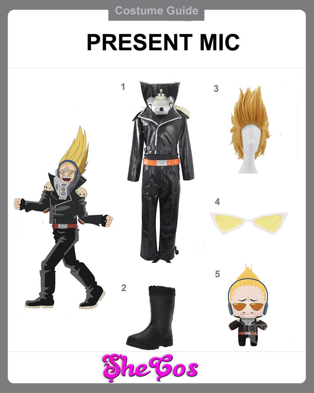 present mic cosplay diy