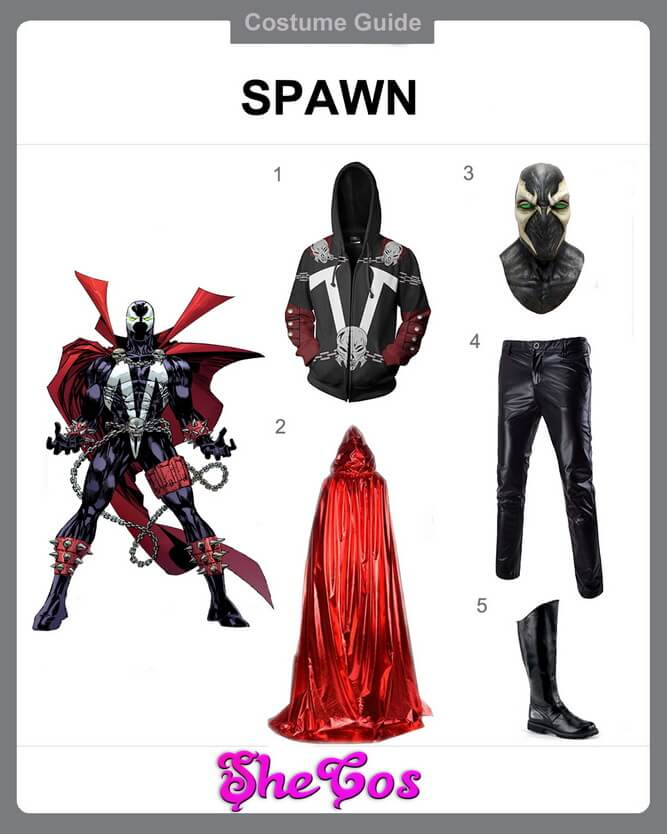 spawn costume diy