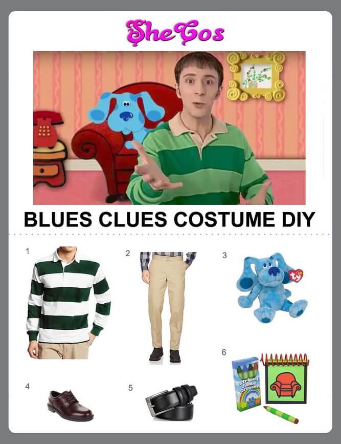 blues clues costume diy