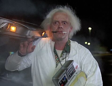 doc brown cosplay