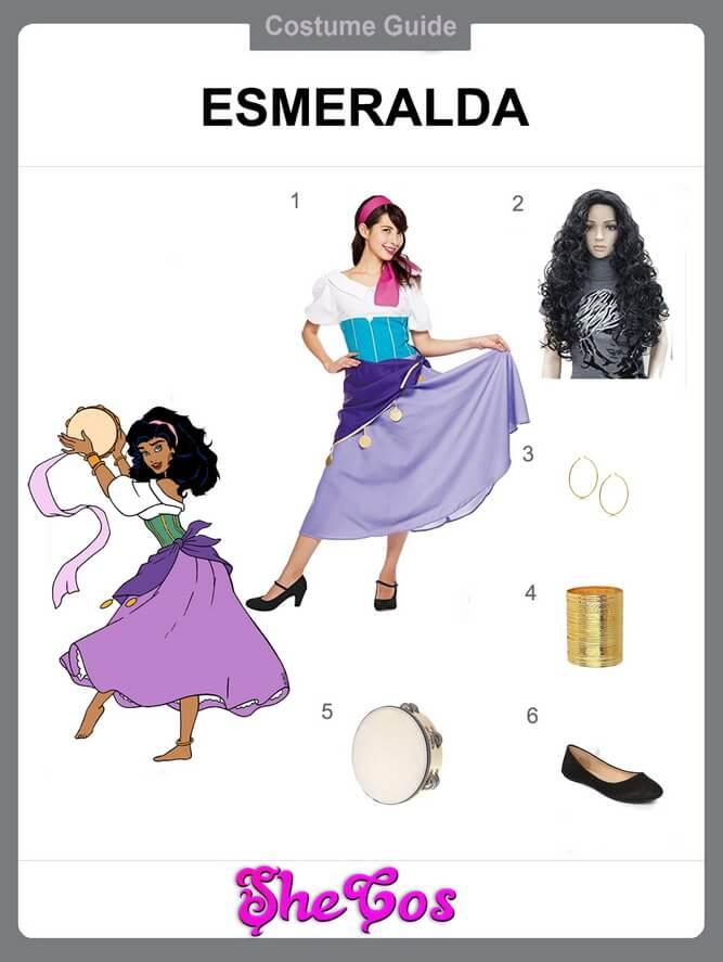 esmeralda cosplay diy