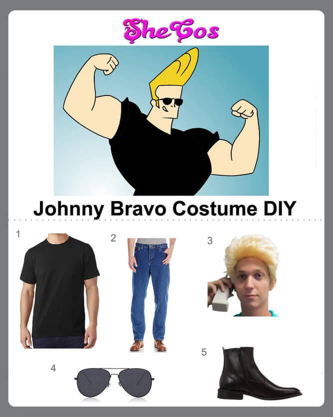 johnny bravo costume diy