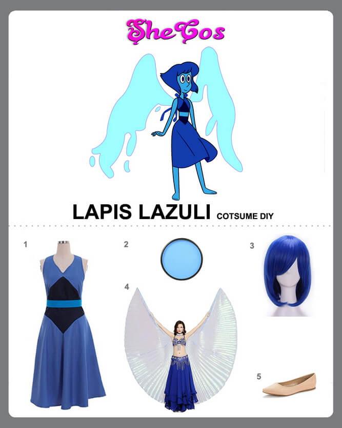 lapis lazuli cosplay diy