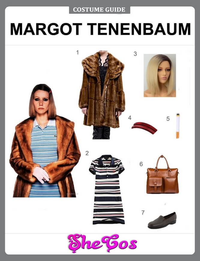 margot tenenbaum costume diy
