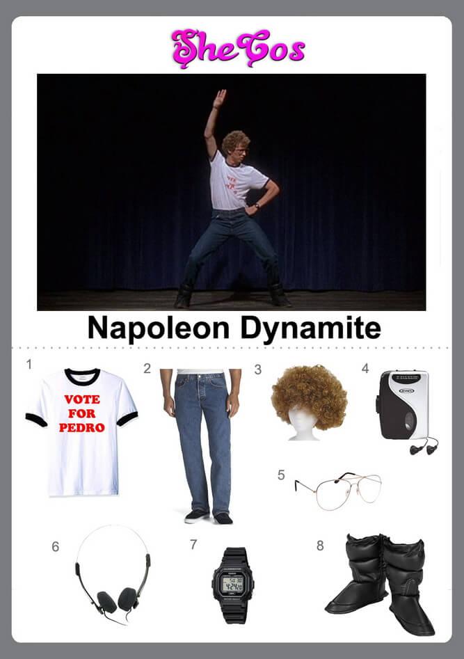 napoleon dynamite costume diy
