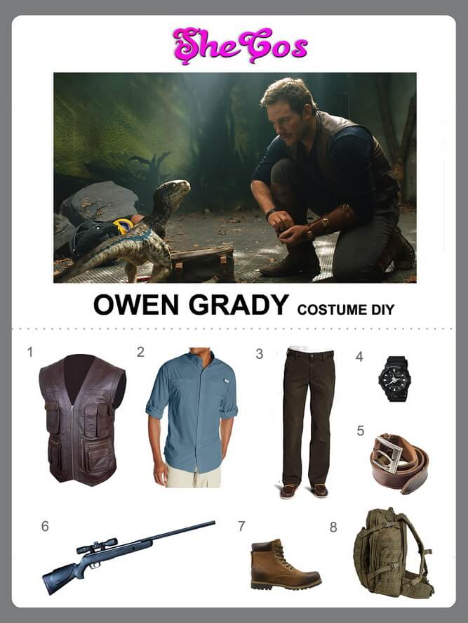 owen jurassic world costume diy