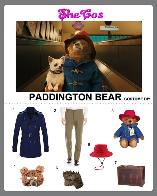paddington bear costume diy