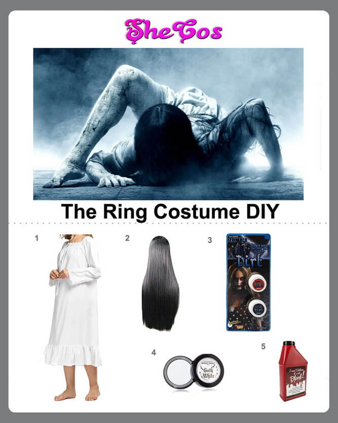 samara the ring costume diy