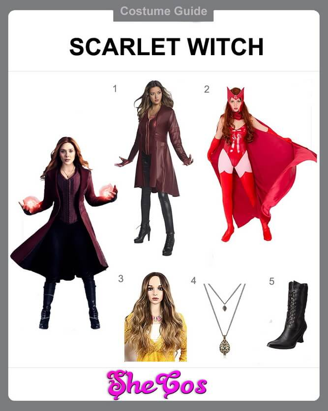 scarlet witch cosplay diy