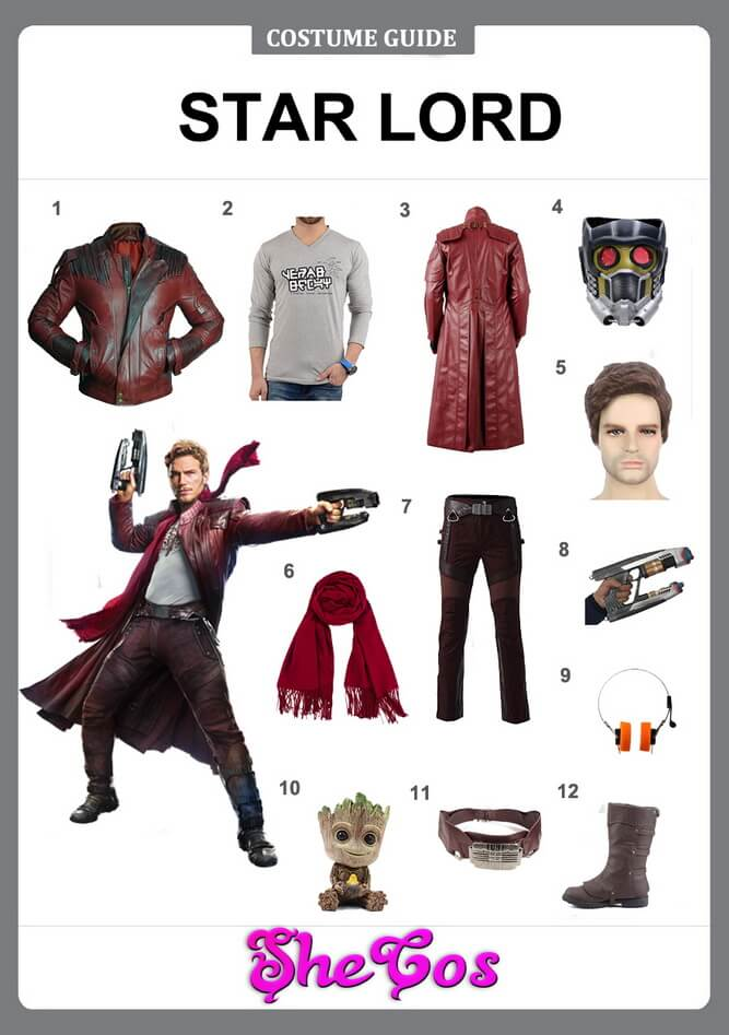 star lord costume diy