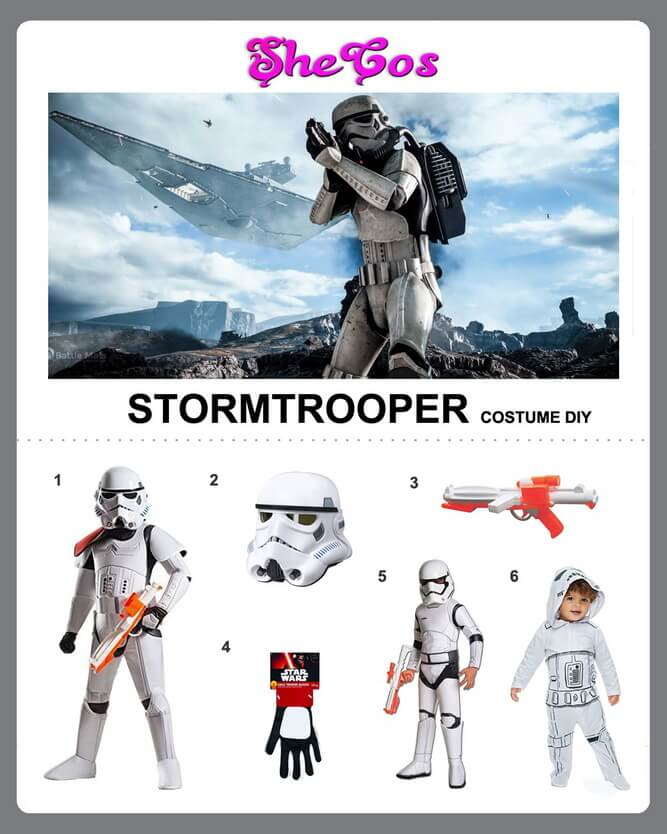 stormtrooper costume diy