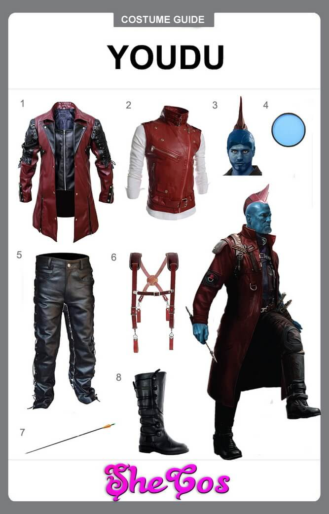 yondu costume diy