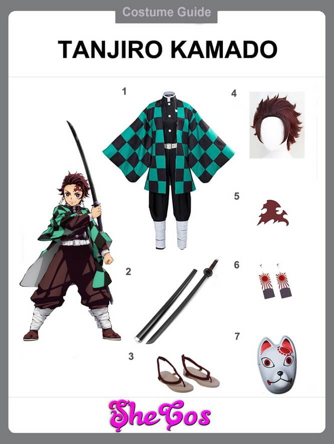 Tanjiro Kamado cosplay ideas