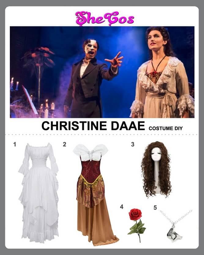 christine daae costume diy