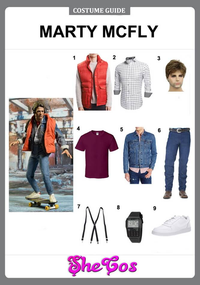 marty mcfly costume diy