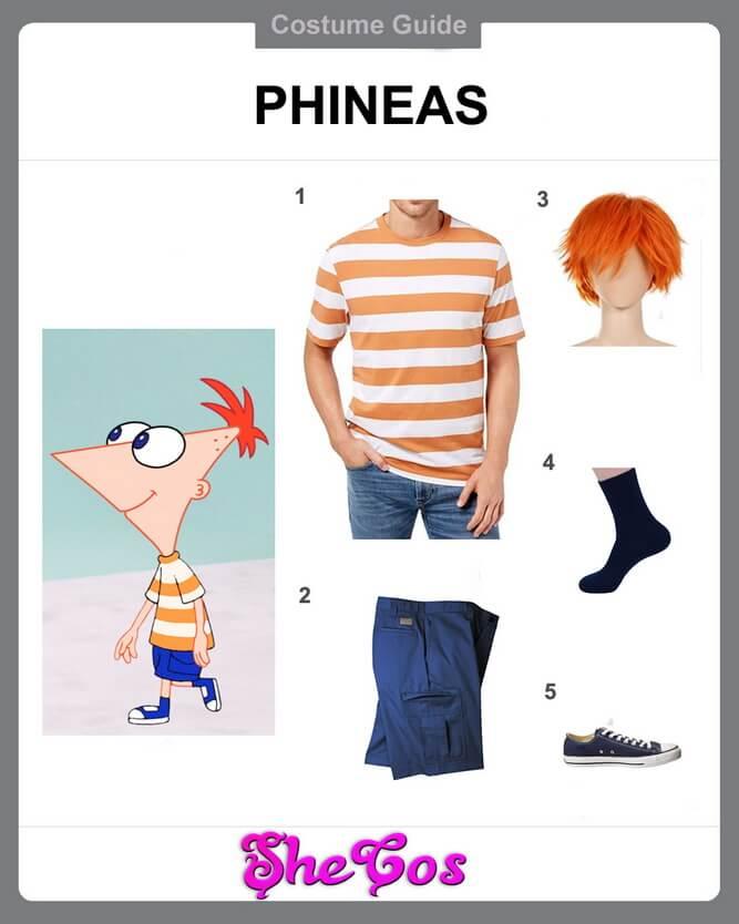 phineas costume diy