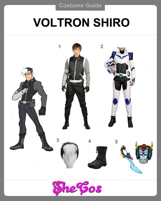 shiro voltron cosplay diy
