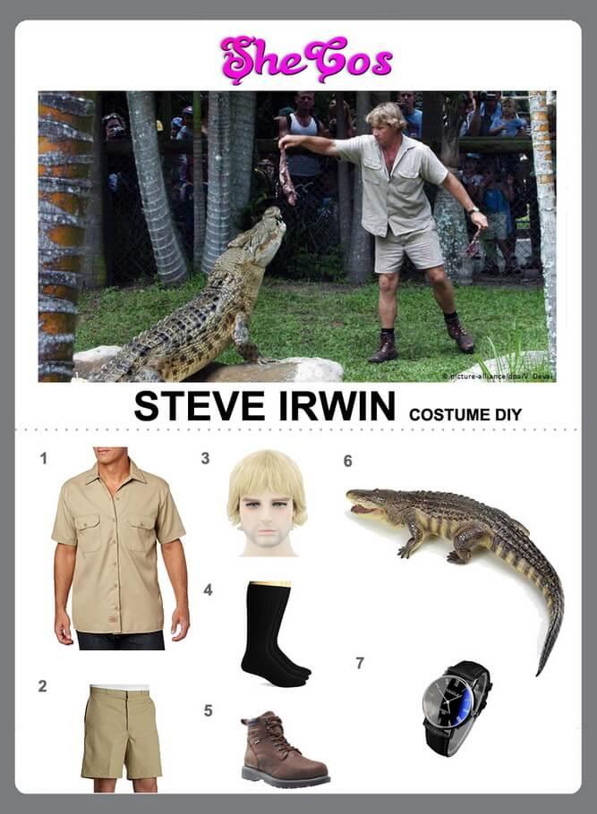 steve irwin costume diy