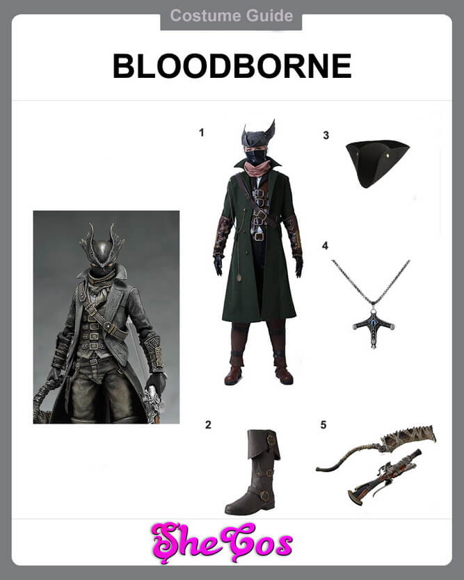 bloodborne cosplay diy