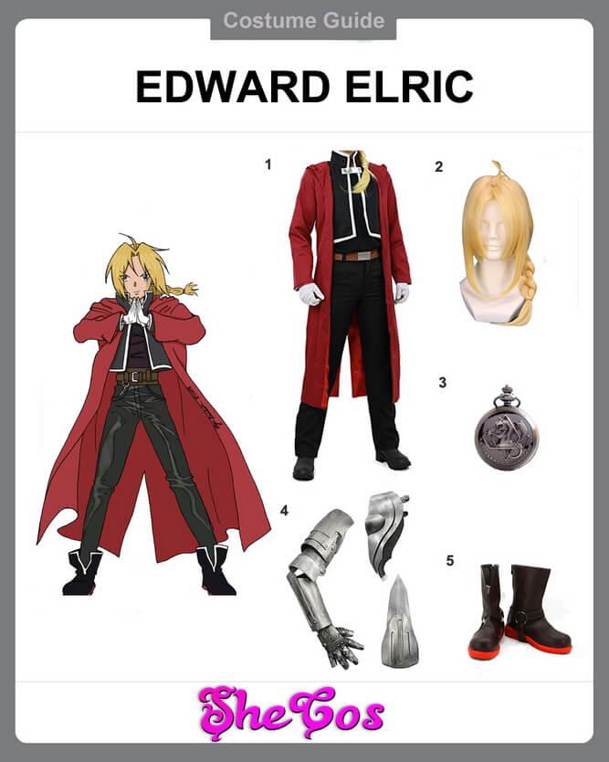edward elric cosplay diy