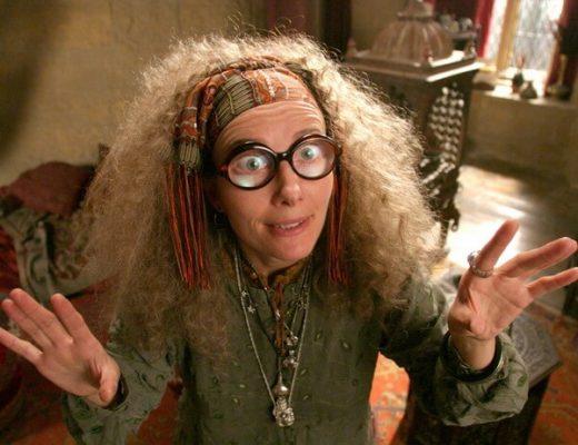 professor trelawney costume