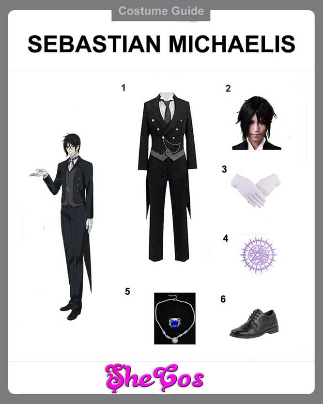 sebastian michaelis cosplay diy