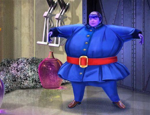 violet beauregarde costume