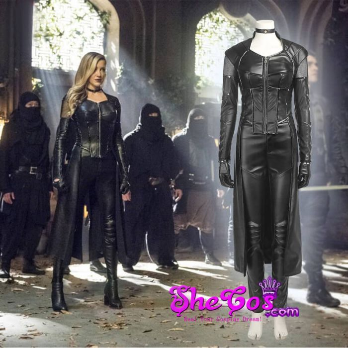 & Green Arrow Season 5 Black Canary Costume