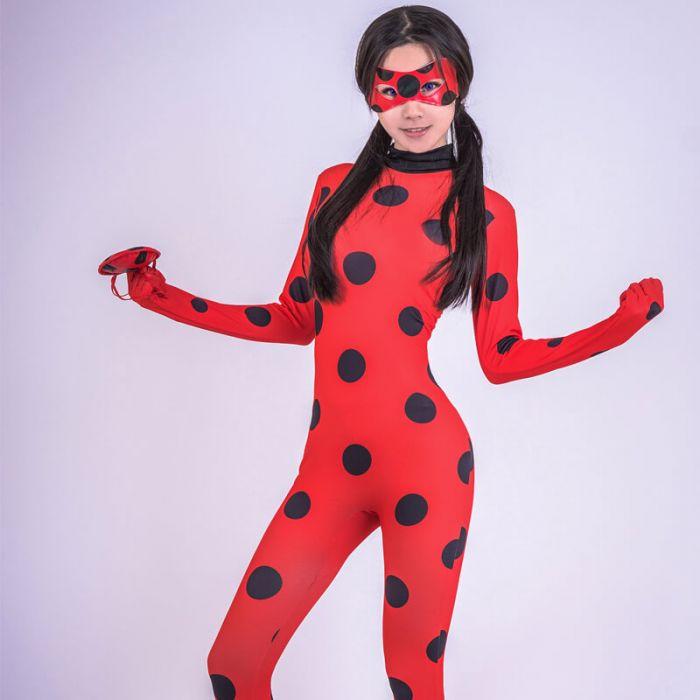 Girls Miraculous Ladybug Costume