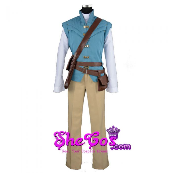 Custom made Size Rapunzel Flynn Rider Cosplay Costume