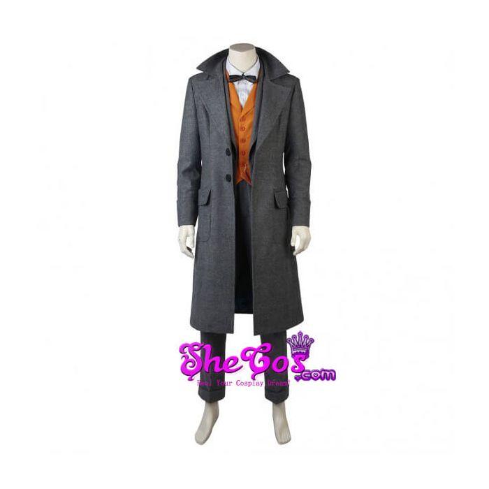 Fantastic Beasts The Crimes of Gellert Grindelwald Cosplay Costume Coat Suit