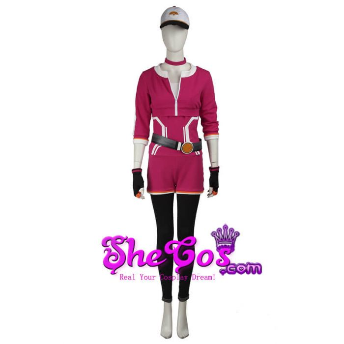Details about  /Red costume from Pokemon Cosplay costume