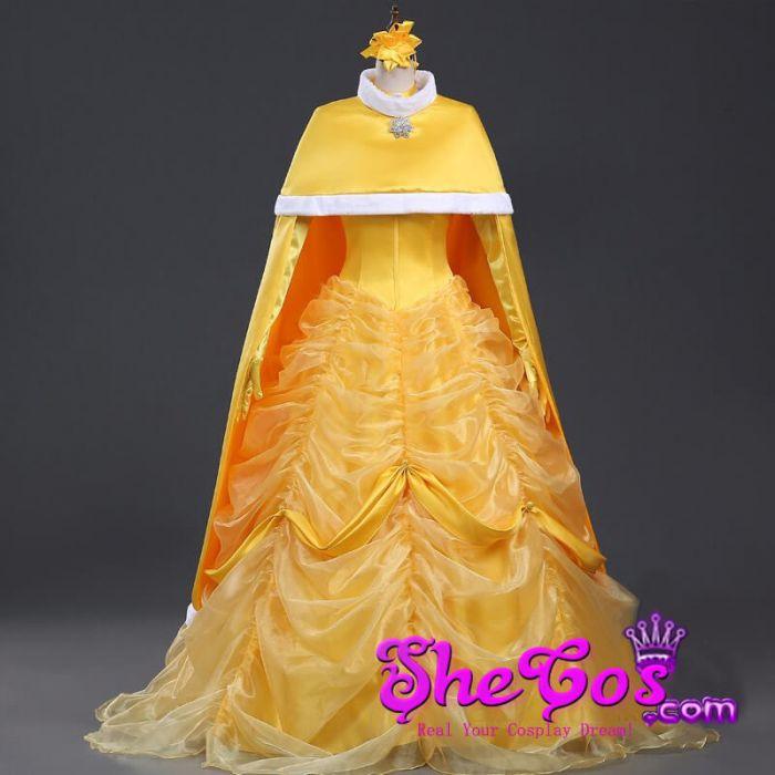 deluxe beauty and beast belle halloween costume