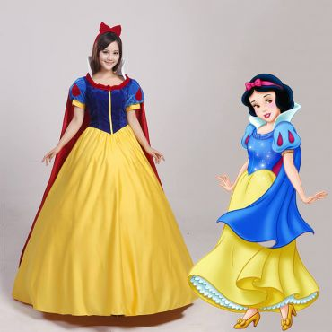 Snow White Adult Princess Cosplay Costume