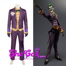 purple joker suit