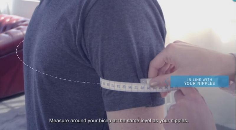 Bicep measure