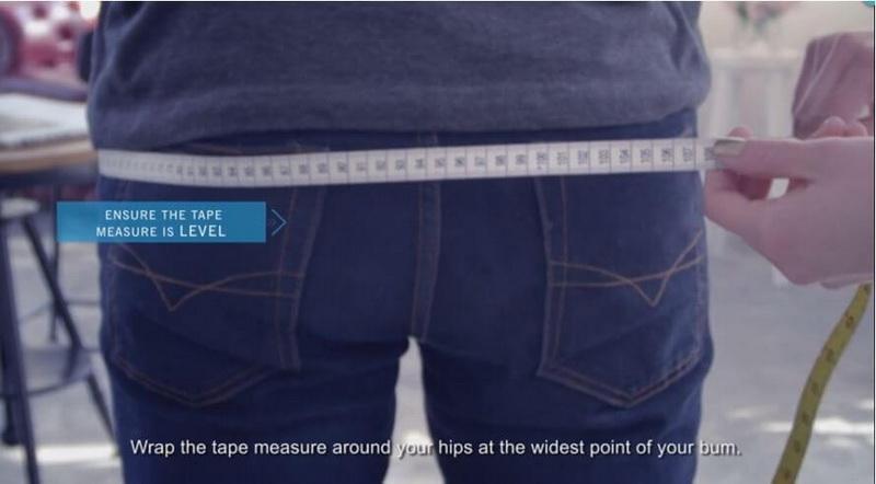 Hips measure